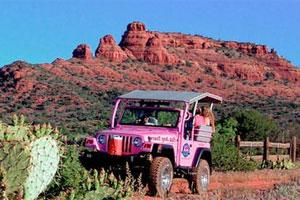 Pink Jeep Tour Sedona Massage Namti