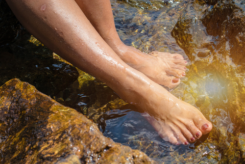 Ionic Foot Bath in Sedona