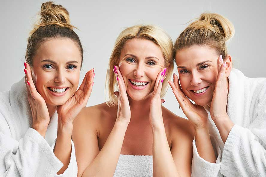 girls-getaway-wedding-group-sedona-spa-massage